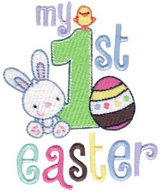 Embroidery | Free Machine Embroidery Designs | Bunnycup Embroidery | Easter Fun
