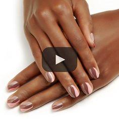 Cozy Swirl - Neutral Nude Nail Art Design - Essie Nail Polish Looks Tutorial