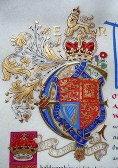 Royal Initial of Queen Elizabeth II  (by Andrew Stewart Jamieson)