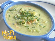 "MSPI Mama: Broccoli ""Cheese"" Soup - Vegan"
