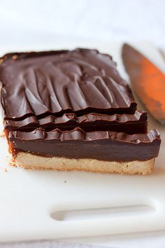 Homemade Twix Bars by Back to the Cutting Board, via Flickr