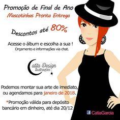 Ilustrações Catita Design: PROMOÇÃO DE MASCOTINHAS