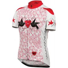 Pearl Izumi Women''s Doves Red Elite LTD cycling jersey on sale,for Cheap,wholesale