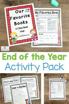 "End of Year Activities for 3rd, 4th, or 5th grade - Use this download in your upper elementary classroom to celebrate the #EndOfYear. These printables are fun, engaging, and keep students motivated on those last days. You get autograph pages, favorite books list, ""My Favorite"" lists, My Year in ABCs, 20 countdown activity cards, now and then (beginning and end of year comparison), plus more! #EndOfTheYear #UpperElementary End Of Year Activities, 5th Grade Classroom, Autograph Books, Abcs, Upper Elementary, 5th Grades, Book Lists, Graduation, Students"
