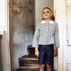 Wool jacket by Les Zigouis