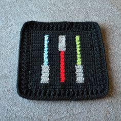 A Galaxy Far, Far Away | Not All Who Wander Are Lost 32 Star Wars Crochet, Crochet Stars, Crochet Motif, Free Crochet, Crochet Patterns, Crochet Designs, Crochet Ideas, Afghan Patterns, Cross Stitch Patterns