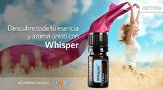 Whisper se combina con la química de cada persona para crear una fragancia única e irrepetible.  Además, proporciona un aroma cálido que seduce los sentidos e intriga la mente calmando la piel y las emociones. Visita http://clubesenciasdelatierra.com/curso