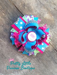 OTT Hair Bow I Don't Do Bows off the Rack Pink by ThePLPBowtique, $12.50