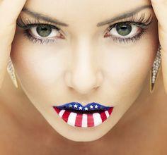 Incredible Lip Art Examples