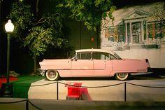 Elvis Presley's Cadillac at Graceland in Memphis, Tenn. (© Richard Gardner/Rex)