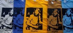 DUANE ALLMAN BROTHERS W LES PAUL SKYDOG T SHIRT VINTAGE ROCK SQ/ MC SM-5XL