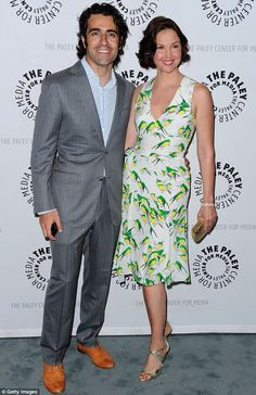 End of the line: Ashley Judd and husband Dario Franchitti have announced they have split after more than a decade of marriage, pictured here in Beverly Hills in April 2012