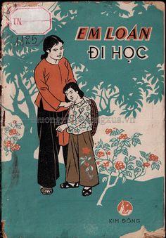 Em Loan Đi Học (NXB Kim Đồng 1967) - Nhiều Tác Giả, 31 Trang | Sách Việt Nam