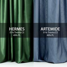#Artemide è un tessuto ignifugo, raso con effetto cannettato in poliestere Trevira coordinabile con #Hermes, ignifugo in tinta unita con effetto raso.  Entrambi i tessuti sono realizzati in 51% Trevira CS e 49% PL, fanno parte della collezione #Zeus.  #tessuti #interiordesign #tendaggi #textile #textiles #fabric #homedecor #homedesign #hometextile #decoration Visita il nostro sito www.ctasrl.com e scarica le nostre brochure su: http://bit.ly/1nhrLQM