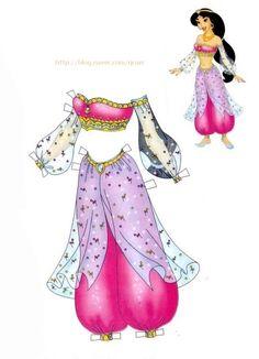 종이인형 (알라딘) : 네이버 블로그 * 1500 free paper dolls from artist Arielle Gabriel The International Paper Doll Society for Pinterest paper doll pals *