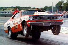 Vintage Drag Racing - Pro Stock - Butch Leal