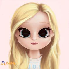 Annabeth Chase in Dollify Kawaii Girl Drawings, Cute Little Drawings, Cute Cartoon Drawings, Cute Girl Drawing, Girly Drawings, Cute Cartoon Girl, Cartoon Girl Drawing, Cartoon Art, Fille Anime Cool