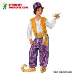 Disfraz Árabe Aladino niño