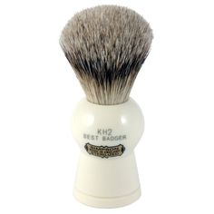 Simpson Keyhole KH2 Best Badger Hair Shaving Brush Medium - Imitation Ivory - Best Badger Shaving Brushes - Shaving Brushes
