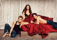 Bonus Photos From the Sexy Vampire Diaries Shoot For Entertainment Weekly
