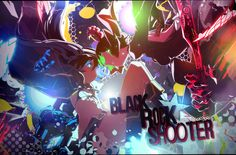 Wallpaper Black Rock Shooter [Collab with Oxide] by Yumijii.deviantart.com on @DeviantArt