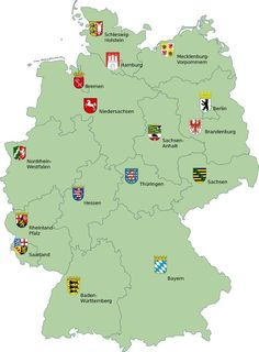 map of major cities in Germany Germany Pinterest City Castles