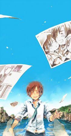 Hetalia (ヘタリア) - North Italy (イタリア)<<<<<I think that's South Italy. Romano Hetalia, Latin Hetalia, Anime Manga, Anime Guys, Anime Art, Manado, Aph Italy, Hetalia Fanart, Hetalia Cosplay