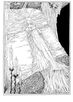 Chris Riddell's The Sleeper and the Spindle gallery – in pictures
