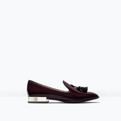 PATENT SLIPPER-Shoes-Woman-SHOES & BAGS | ZARA United States