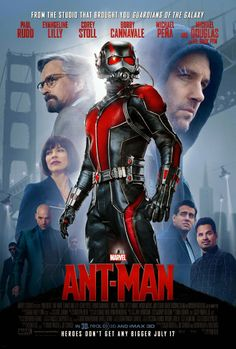 CHECK OUT ANT-MAN NEW POSTER [PIC]