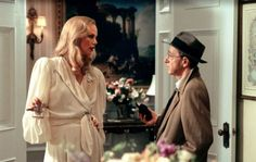 """'The Curse of the Jade Scorpion' ( John Clifford/DreamWorks / July 2013 ) Charlize Theron and Woody Allen in """"The Curse of the Jade Scorpion. Woody Allen, Charlize Theron, Golden Calf, Berlin, Atomic Blonde, Jade, Dreamworks, Movies To Watch, American Actress"""