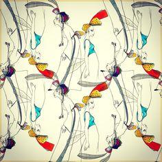 Umut Karaman - fashion illustration