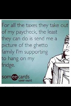 Or a picture of the family that lies and cheats the government!!
