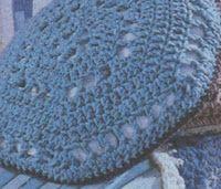 Professione Donna: Lavori con l'uncinetto: Cuscino di lana con motivo ad esagono