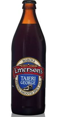 Emersons Taieri George. A great beer, which is all you expect from this Dunedin brewery.