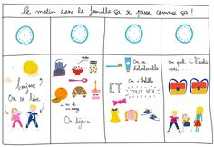 LE TABLEAU DES MATINS FASTOCHES #FREE PRINTABLE