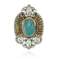 Samantha Wills Endless Nights Ring Turquoise