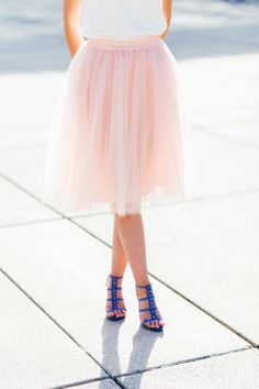 Welcome to your feminine style haven! Whether you are looking for perfect everyday tulle skirt, gorgeous tutu, or formal neoprene skirt - we have them all. Tulle Skirts, Tulle Tutu, Chiffon Skirt, Feminine Style, What To Wear, Ballet Skirt, Silk, Formal, Inspiration
