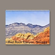 Red Rock #Canyon 2013 Calendar from $15.34 #Nevada #deserts