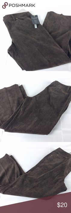 NWT 12P Chocolate Brown Nice brand new pants from Zac and Rachel. Size 12P. Chocolate brown. Good for work or casual wear. Tailor free, washable. Style # GP82DMQF5. Zac & Rachel Pants