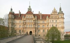 Schloss Güstrow where my Albrecht GGG-Grandparents served as Game Warden and Governess
