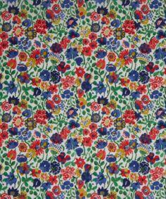 NEW SEASON! Liberty Art Fabric Kaylie Sunshine A Tana Lawn | Classic Tana Lawn by Liberty Art Fabrics | Liberty.co.uk