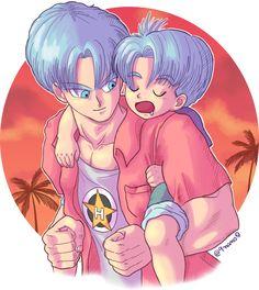Twitter Pokemon Fairy, Trunks And Mai, Trunks Dbz, Anime Manga, Chibi, Fan Art, Cartoon, Rwby, Superman