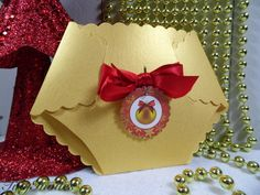 Gold Christmas Baby Shower invitations,Christmas baby shower,christmas invitation,christmas invite,winter baby shower,ornament,fancy,baby on Etsy, $3.50