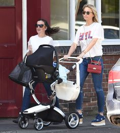 Alex Gerrard makes her FIRST appearance with baby son Alex Gerrard, Steven Gerrard, Celebrity Outfits, Celebrity Style, Captain Fantastic, Yummy Mummy, Football Players, Baby Strollers, Sons