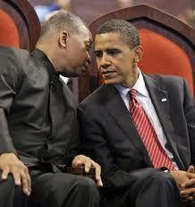 My Spiritual Leader And My President. At Apostolic Church of God.