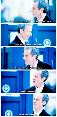 This was so sad - and such a reminder that this is still the Doctor. He acts so much like 11 it's heartbreakingly familiar.