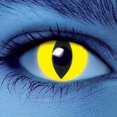 Get amazing glowing eyes with UV Yellow Cat contact lenses . These UV contact lenses glow very brightly under UV light and black light. They look really freaky and are sure to get you noticed! In daylight, they just look like regular contacts.    Dream Eyes UV Contact Lenses give you incredible glowing eyes and look great in normal light too. These colored contact lenses have a solid color and glow brightly under UV light or blacklight. Dream Eyes contact lenses are light, soft and ...