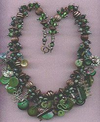 Emerald City Necklace | AllFreeJewelryMaking.com