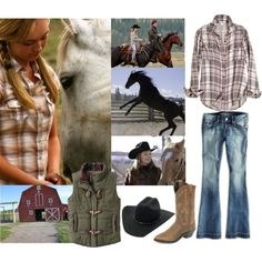 Heartland - Amy Fleming, created by imhaleyjane on Polyvore